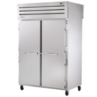 True STA2RPT-2S-2G-HC Specification Series 52 5/8 inch Solid Front, Glass Back Pass-Through Refrigerator