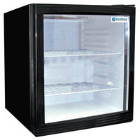 Excellence EMM-2S Black Countertop Display Refrigerator with Swing Door - 1.8 cu. ft.