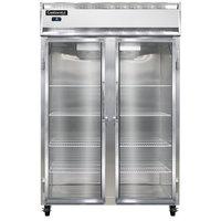 Continental Refrigerator 2F-GD 52 inch Glass Door Reach-In Freezer - 48 Cu. Ft.