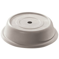 Cambro 1010VS380 Versa 10 5/8 inch Ivory Camcover Round Plate Cover - 12/Case