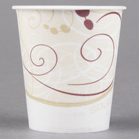 Solo R53-J8000 Symphony 5 oz. Wax Treated Paper Cold Cup - 100/Pack
