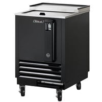Turbo Air TBC-24SB Black 24 inch Bottle Cooler