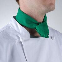 37 inch x 14 inch Green Neckerchief / Bandana