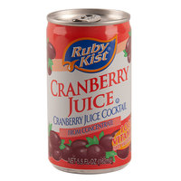 5.5 oz. Canned Cranberry Juice Cocktail - 48/Case