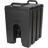 Cambro 1000LCD110 Camtainers® 11.75 Gallon Black Insulated Beverage Dispenser