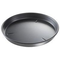 Chicago Metallic 91135 13 inch x 1 1/2 inch BAKALON Pre-Seasoned Aluminum Customizable Deep Dish Pizza Pan