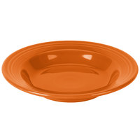 Homer Laughlin 451325 Fiesta Tangerine 13.25 oz. Rim Soup Bowl - 12/Case