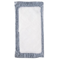 Absorbent Meat, Fish and Poultry Pad 4 inch x 7 inch - 40 Grams Black 2000/Case