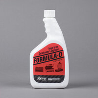 Noble Chemical 1 Qt. / 32 oz. Formula-D Ready to Use Decarbonizer and Degreaser