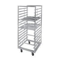 Channel 412A-DOR Double Section Side Load Aluminum Bun Pan Oven Rack - 30 Pan