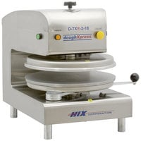 DoughXpress D-TXE-2-18 Dual Heat Round Electromechanical Tortilla Press 18 inch - 220V