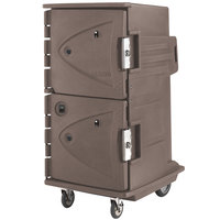 Cambro CMBH1826TTR194 Granite Sand Camtherm Electric Food Holding Cabinet w/ Security Package Tall Profile - Hot Only