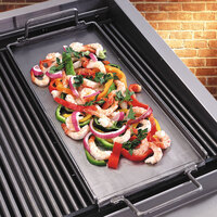 Bakers Pride T1209U-30S 11 inch Ultimate Outdoor Charbroiler Wide Lift Off Griddle Plate