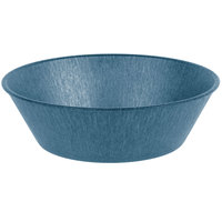 HS Inc. HS1012L 9 inch x 2 3/4 inch Blueberry Polyethylene Large Round Basket - 24/Case