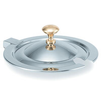Vollrath Miramar 8231620 Hinged Cover with Brass Knob for 7 Qt. 8230010 Stainless Steel Soup Inset