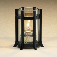 Sterno Products 85126 3 1/4 inch x 4 inch Black Castle Lamp Base