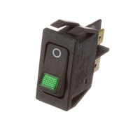 Hatco 02.19.081.00 Switch Rck DPST16A 250V Illum Green