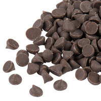 Chocolate Flavored 4M Baking Chips 25 lb.