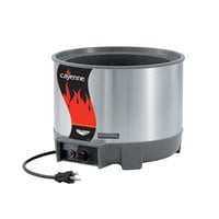 Vollrath 72021 11 Qt. Round Heat n' Serve Soup Warmer - 120V, 800W