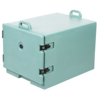 Cambro 1826MTC401 Camcarrier Slate Blue Front Loading Insulated Tray / Sheet Pan Carrier for Full Size Pans