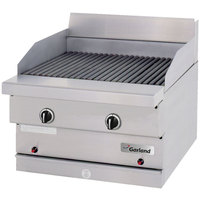 Garland GF24-BRL Sentry Flame Failure Series Natural Gas 24 inch Ceramic Briquette Charbroiler - 60,000 BTU