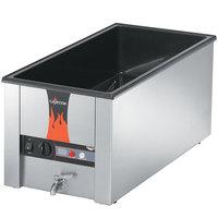 Vollrath 72051 Cayenne 28 3/4 inch x 13 3/4 inch Heat 'n Serve 4/3 Size Countertop Food Rethermalizer - 120V, 1600W