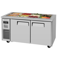 Turbo Air JBT-60 59 inch Refrigerated Buffet Display Table - 15 Cu. Ft.