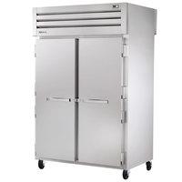 True STG2RPT-2S-2S-HC Specification Series 52 5/8 inch Solid Door Pass-Through Refrigerator
