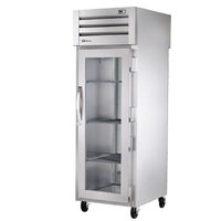 True STG1RPT-1G-1S-HC Specification Series 27 1/2 inch Glass Front, Solid Back Door Pass-Through Refrigerator