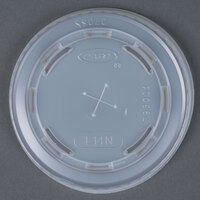 Dart Solo L14N Conex Translucent Lid with Straw Slot - 1000 / Case