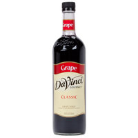 DaVinci Gourmet 750 mL Grape Classic Coffee Flavoring / Fruit Syrup