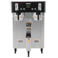 Bunn 34600.0006 BrewWISE Dual ThermoFresh DBC Brewer with Funnel Lock - 120/208V, 5700W