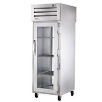 True STG1RPT-1G-1G-HC Specification Series 27 1/2 inch Glass Door Pass-Through Refrigerator