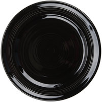 Tuxton CBA-090 Concentrix 9 inch Black China Plate - 24/Case