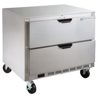 Beverage-Air UCRD36AHC-2 36 inch Undercounter Refrigerator with 2 Drawers