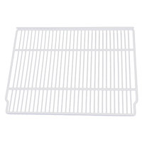 True 909153 White Coated Wire Shelf - 20 7/8 inch x 16 1/4 inch