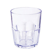 GET 9912-1-BL 12 oz. Blue Break-Resistant Plastic Bahama Tumbler - 72 / Case