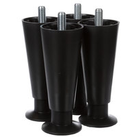 Ice-O-Matic 9021001-04 6 In Plastic Legs - 4/Set