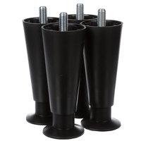 Ice-O-Matic 9021001-04 6 In Plastic Legs - 4/Set