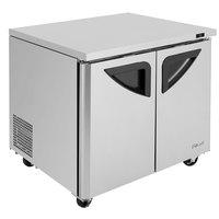 Turbo Air TUR-36SD-N6 Super Deluxe 36 inch Undercounter Refrigerator