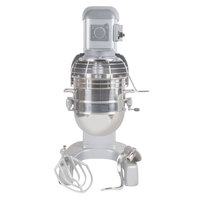 Hobart Legacy HL400-1 40 Qt. Commercial Planetary Floor Mixer with Standard Accessories - 240V/3 Phase, 1 1/2 hp