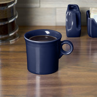 Homer Laughlin 453105 Fiesta Cobalt Blue 10.25 oz. China Mug - 12/Case