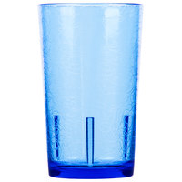 Cambro D12608 Del Mar 12 oz. Sapphire Blue Customizable Plastic Tumbler - 36/Case