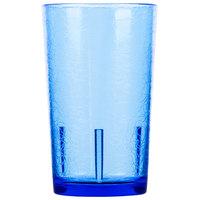Cambro D12608 Del Mar 12 oz. Sapphire Blue Customizable Plastic Tumbler - 36/Case