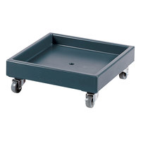 Cambro CD2020401 Slate Blue Camdolly Dish Rack / Glass Rack Dolly - No Handle