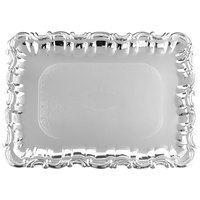 Vollrath 47267 Odyssey 21 3/4 inch x 15 inch Victorian Rectangular Metal Catering Tray