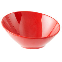 GET B-785-RSP Red Sensation 10 oz. Red Cascading Melamine Bowl - 12/Case