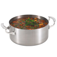 Vollrath 49411 Miramar Display Cookware 5 Qt. Casserole Pan with Low Dome Cover