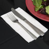 Choice 15 inch x 17 inch 2-Ply White Dinner Napkin - 3000/Case
