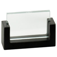 Cal-Mil 1510-32-96 U-Frame 3 1/2 inch x 2 inch Midnight Displayette